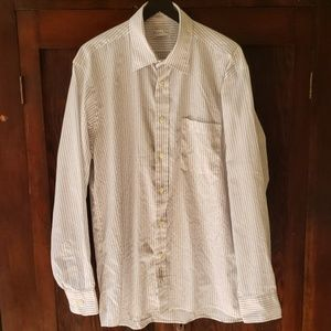 Christian Dior pin collar dress shirt 16, 34/35